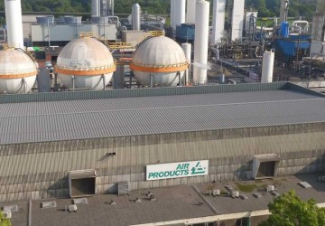 Hellend dak, Air Products - Mendonk | Tectum Group